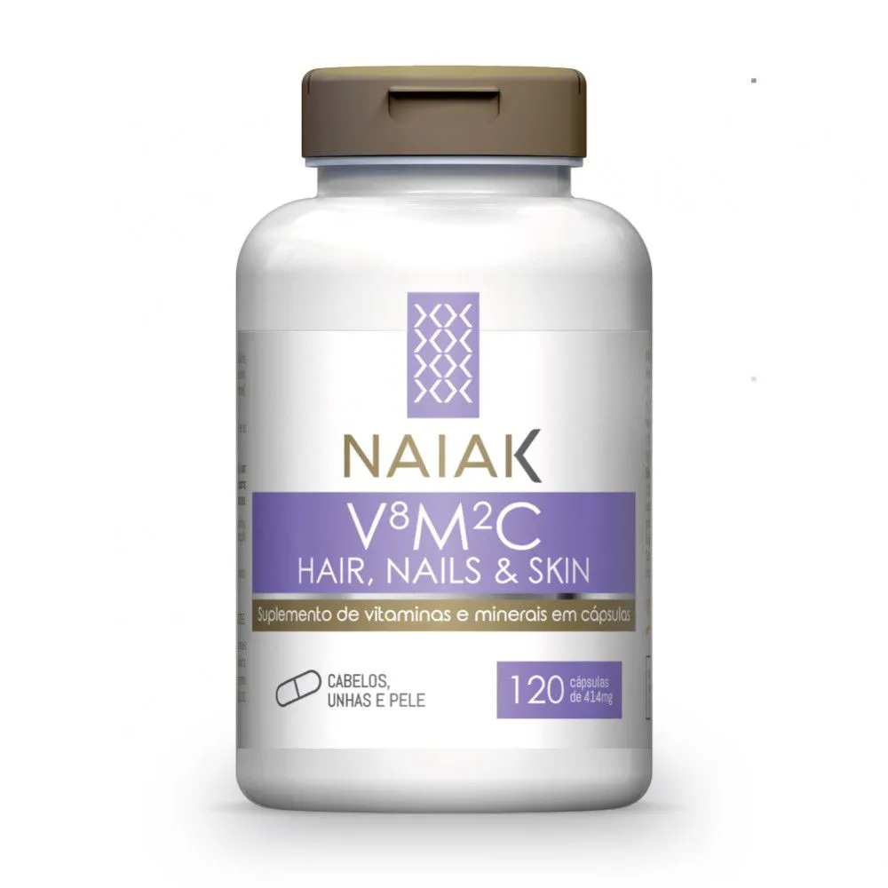 VMC - Colágeno Versiol® Hair, Nails & Skin 120 cápsulas - Naiak