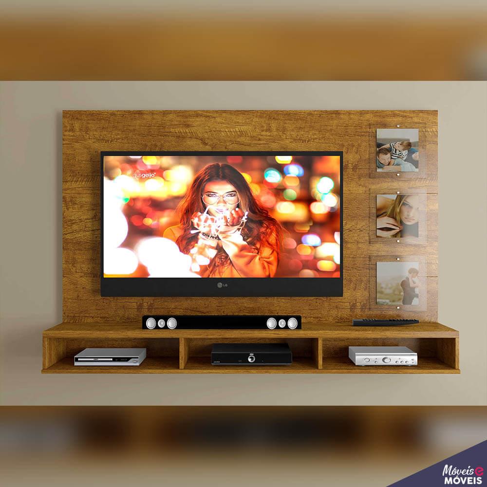 Painel Para Tv Até 55 Polegadas Com Porta Retrato Ipanema Mavaular