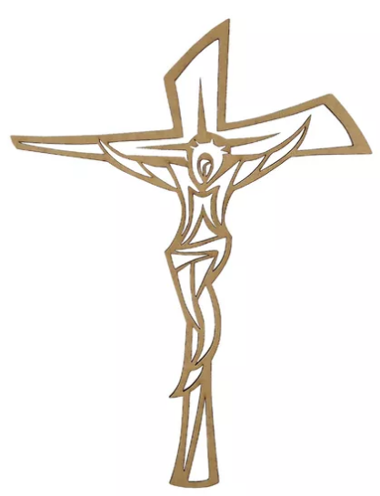 Aplique Crucifixo