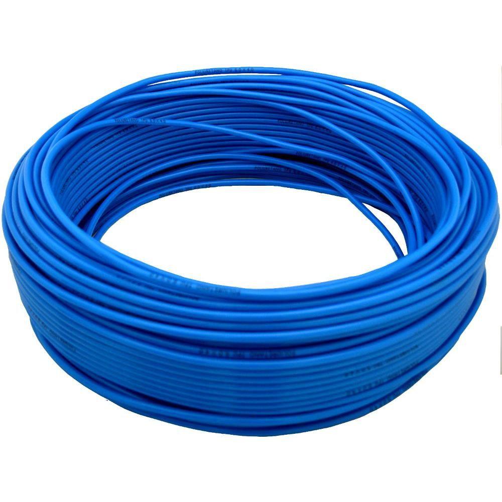 Mangueira Pu 08mm x 5,5 mm Tubo Flexível (poliuretano) 100 Metros Azul