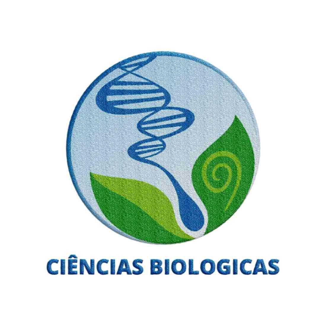 sÍmbolo do curso de ciencias biolÓgicas bordado visan uniformsÍmbolo do curso de ciencias biolÓgicas bordado
