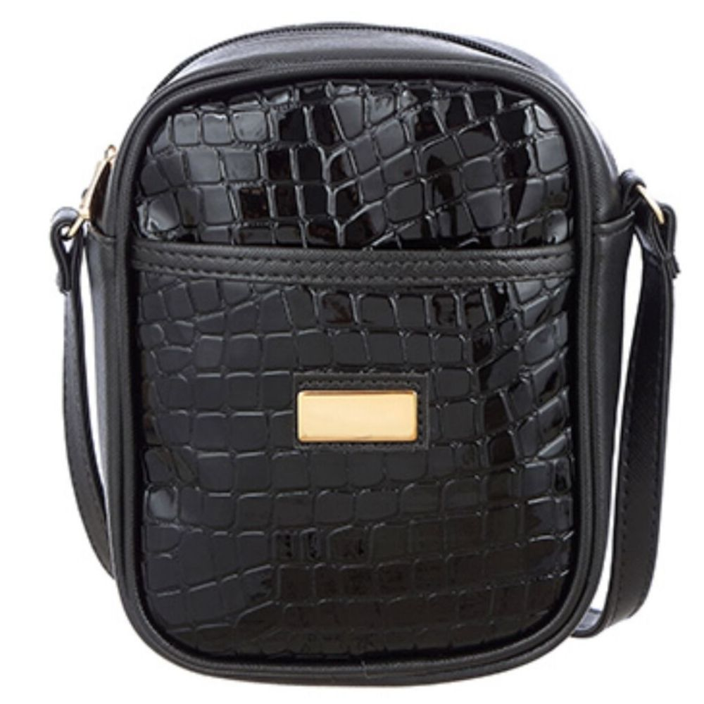 Bolsa Tiracolo Shoulder Bag Verniz Croco