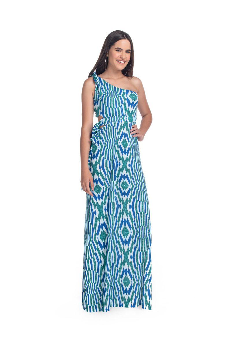 51ec6009aa Vestido Longo Ombro Cristal - RMCE BRAZIL