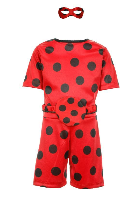Fantasia Lady Bug Shorts Infantil