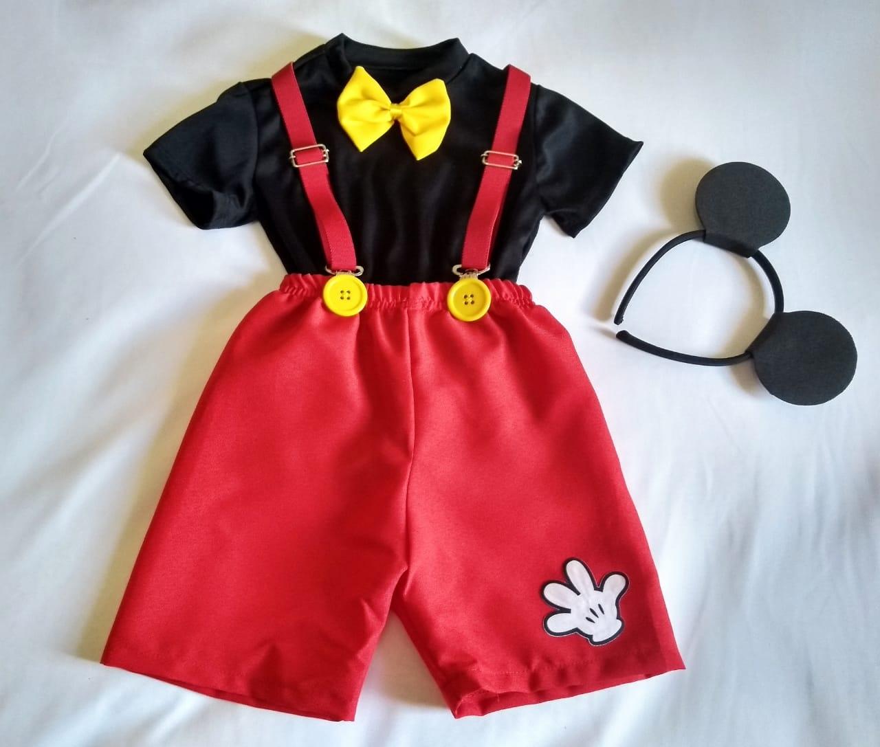 Fantasia Mickey Mágico Infantil