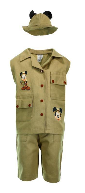 Fantasia Safári Infantil Mickey