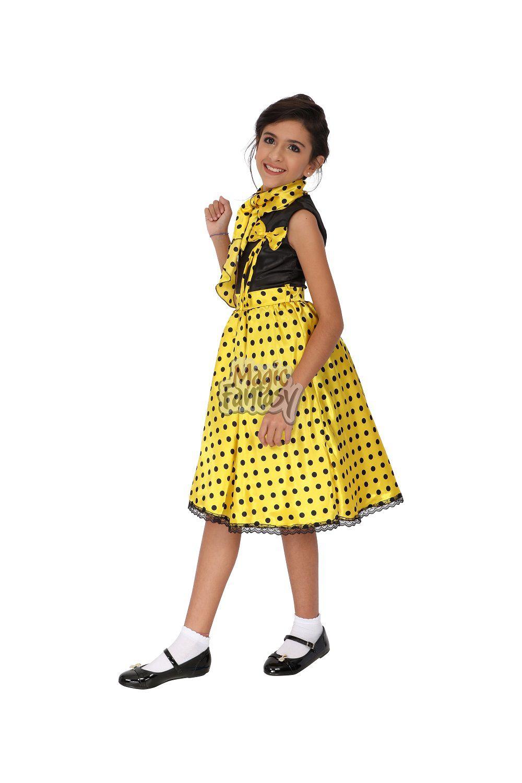 Vestido Anos 60 infantil