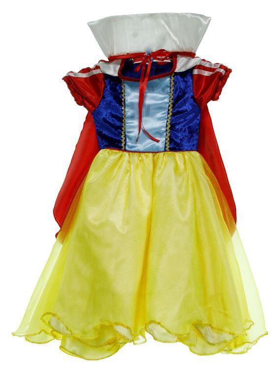 Vestido Branca de Neve Infantil
