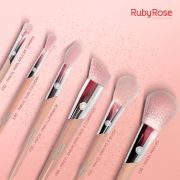 KIT PINCEL RUBY ROSE C/6 ROSE GOLD