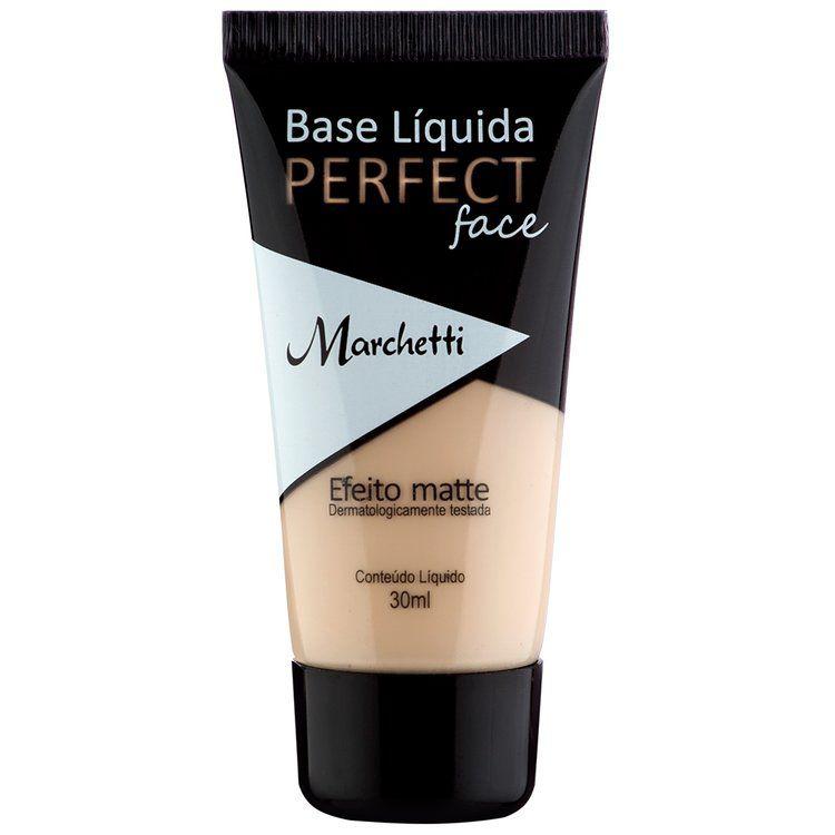 BASE LIQUIDA MARCHETTI MATTE PERFECT FACE 30ML