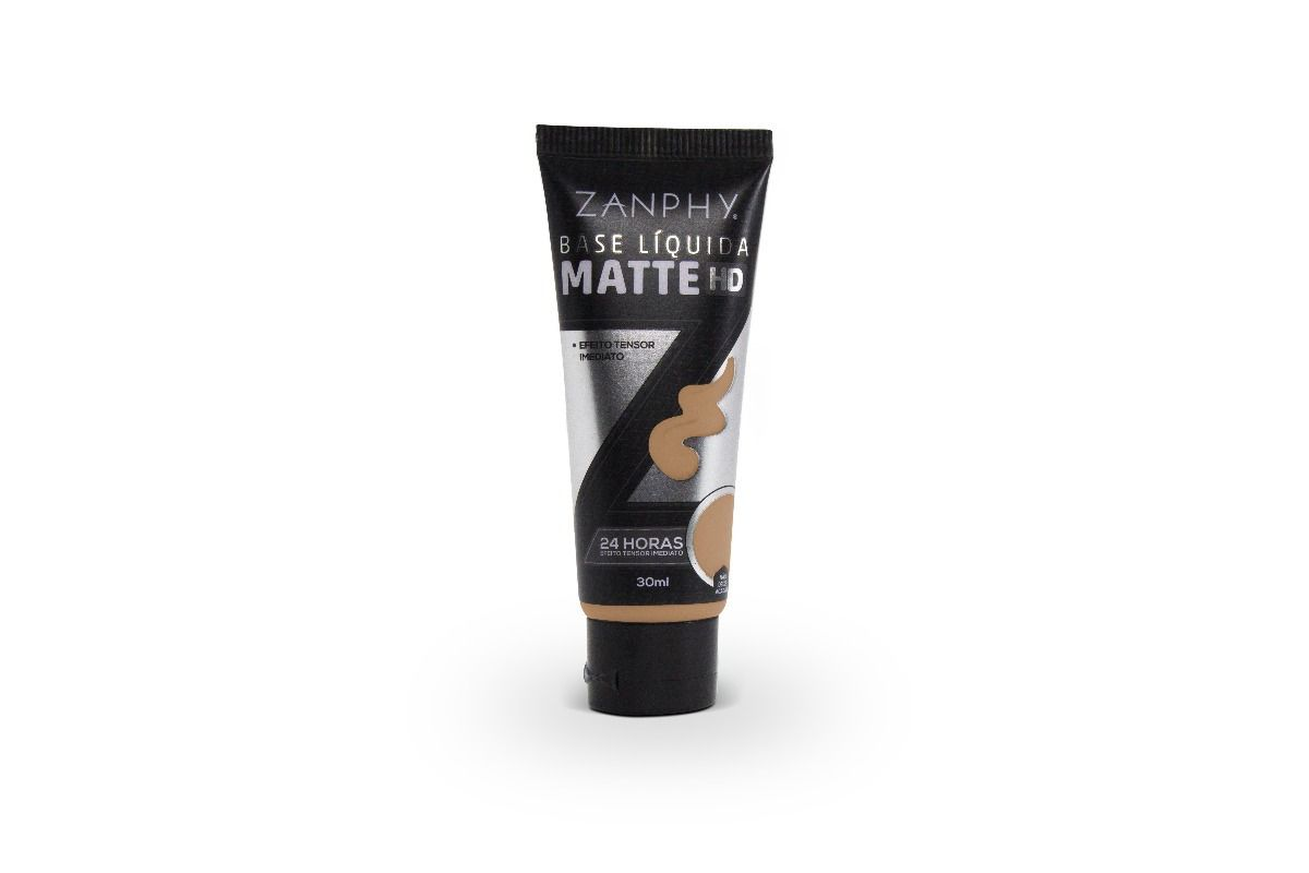 BASE LIQUIDA ZANPHY MATTE HD 24HORAS 30ML