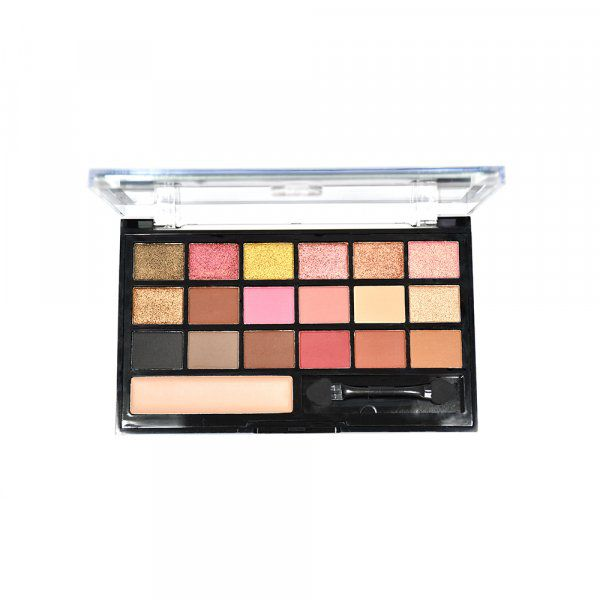 PALETA RUBY ROSE BE FABULOUS C/18 CORES