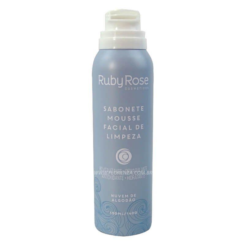 Sabonete Mousse Facial De Limpeza Nuvem de Algodão HB-320 - Ruby Rose