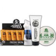 Caixa Fresh Skin (18 un.) + Sabonete Mousse 50ml + Vasellyn Fresh 100g + Transfer Creme 120g