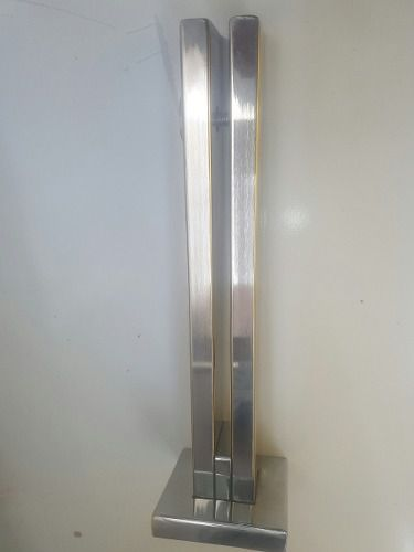 Coluna Torre Inox 304 30cm Guarda Corpo Uso Externo