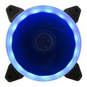 Cooler FAN para Gabinete Ring Bluecase 12cm Azul BFR-05B