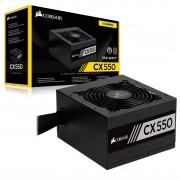 Fonte Corsair CX550 80 Plus Bronze - CP-9020121-WW