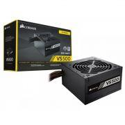 Fonte Corsair VS500 500W 80 Plus White CP-9020223-BR PFC