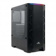 Gabinete Gamer Redragon Starscream Mid Tower Vidro Black S/ Fonte S/ Fan GC-610B
