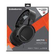 Headset Gamer Arctis 3 Steelseries 7.1 Black - 61433