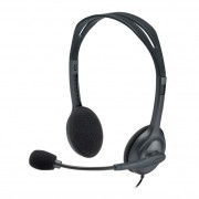 Headset Logitech H111 Estéreo Analógico P3 Cinza 981-000612