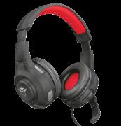 Headset Trust GXT 307 Ravu Preto/Vermelho gaming PS4, PS5 - 22450