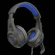 Headset Trust GXT 307B Ravu Preto/Azul gaming PS4, PS5 - 23250