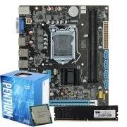 Kit Gamer Kaby Lake Intel H110 DDR4 + CPU G4560 + 4GB DDR4 2666Mhz