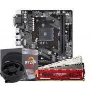 Kit Upgrade Gamer Ryzen 3 2200G + Placa mãe A320M S2H + 8GB DDR4
