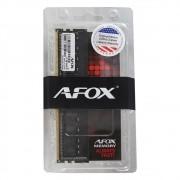 Memória 8GB DDR4 2400Mhz Afox UDIMM AFLD48EH1P CL17