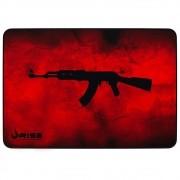 MousePad Gamer Rise Grande 42x29 cm AK47 Vermelho RG-MP-05-AKR