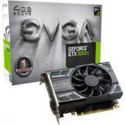 Placa de vídeo EVGA Geforce GTX 1050TI GDDR5 4GB - 04G-P4-6251-KR