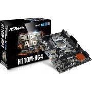 Placa Mãe ASRock H110M HG4 Chipset Intel H110 LGA 1151