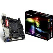 Placa mãe Biostar Racing X470GTN DDR4 Amd AM4