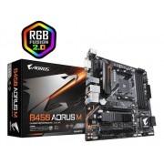 Placa Mãe Gigabyte B450 AORUS M, Chipset B450, AMD AM4, mATX, DDR4