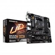 Placa mãe Gigabyte B550M DS3H Chipset B550 AMD AM4 mATX DDR4