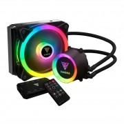 Water Cooler Gamdias Chione E2-120R RGB C/ Controlador Intel AMD