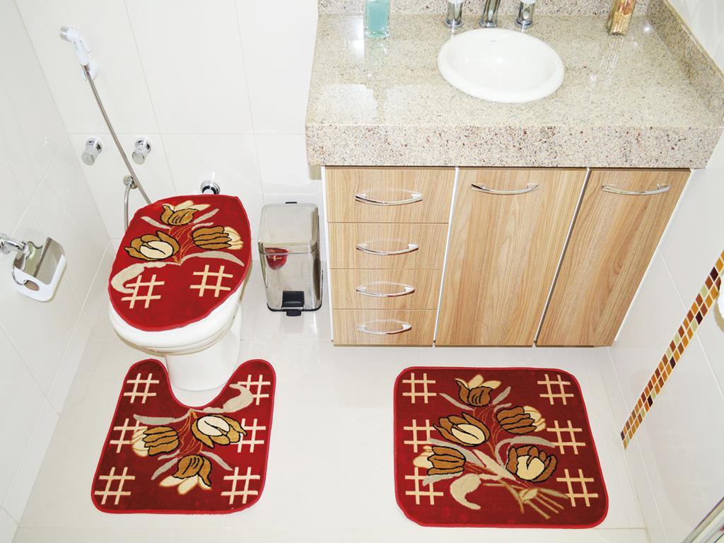 Jogo de Banheiro Belga 03 Peças