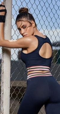 Top Fitness Elastic Color