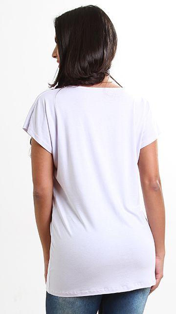 Blusa Dizeres Branca