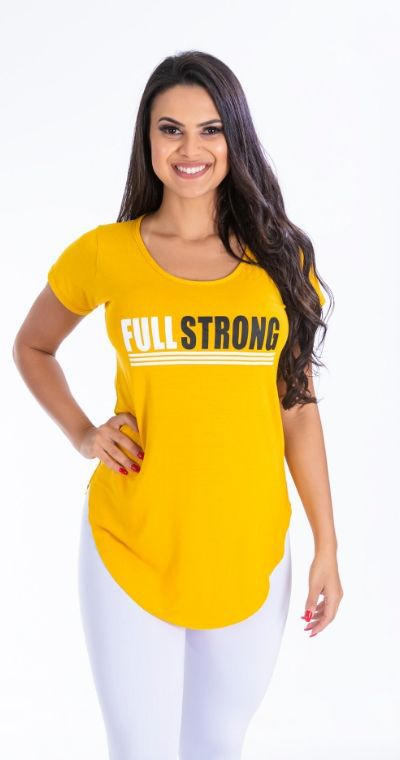 Blusa Full Strong yellow