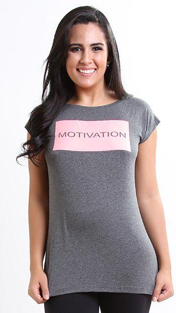Blusa Grey Motivation