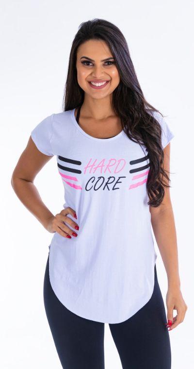 Blusa Hard Core Branca