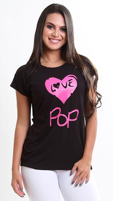 Blusa Love Pop