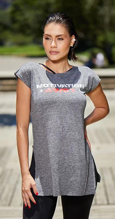 Blusa Vest Leg Motivation
