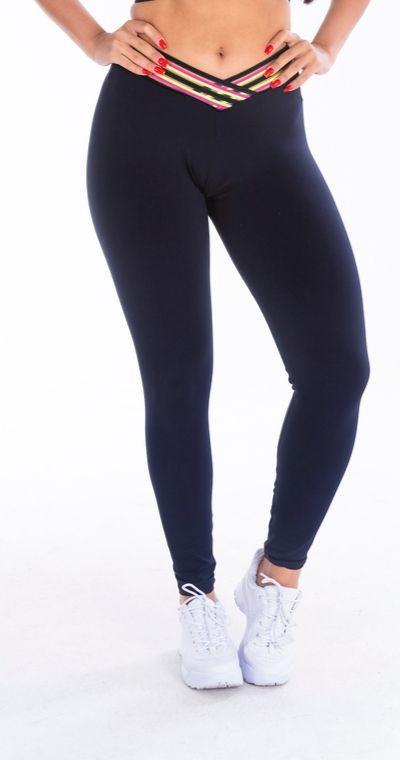 Calça Legging Poliamida Elastic Color