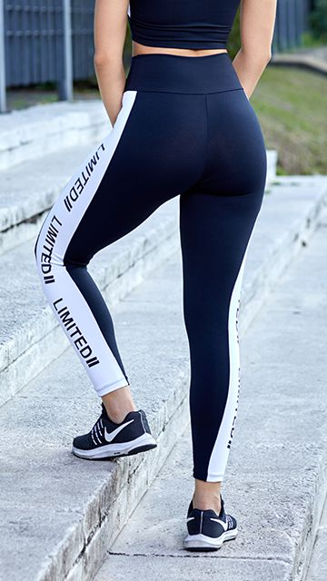 Calça Legging Poliamida Limited Black