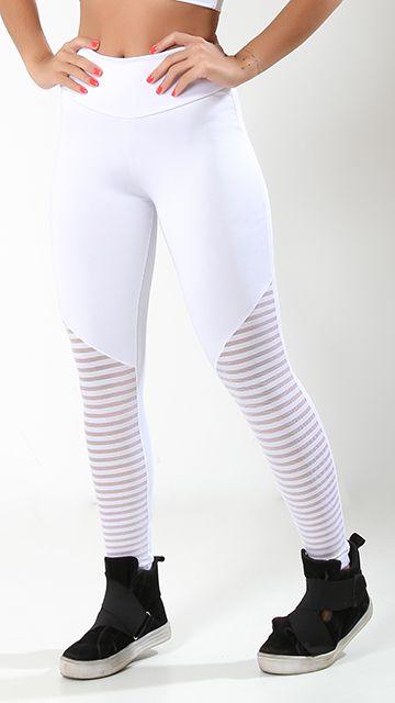 calça suplex branca