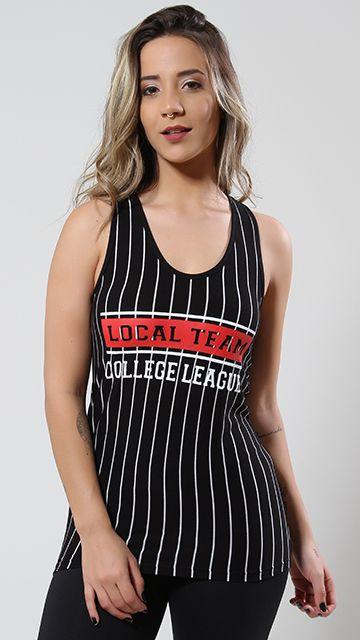 Camiseta College Listrada