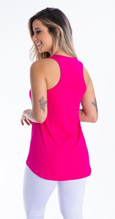 Camiseta Fitness Free Pink